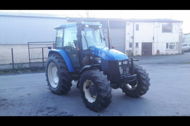 New Holland TS110 Tractor » Second Hand » Agricultural Tractors